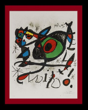 Lithographie Miró - Sobreteixims