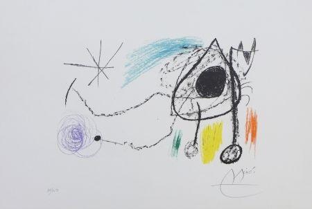 Lithographie Miró - Sobreteixims i escultures