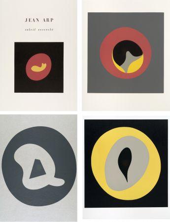 Livre Illustré Arp - SOLEIL RECERCLÉ. Poèmes (Louis Broder 1966)