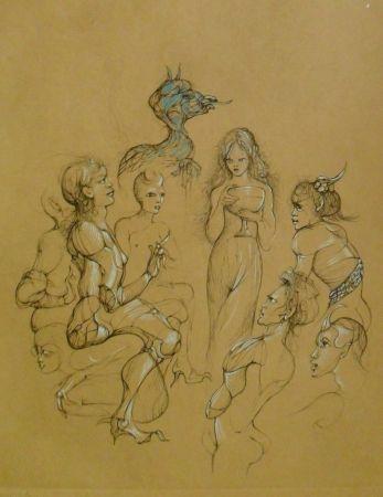 Gravure Fini - Solomonie la Possédée