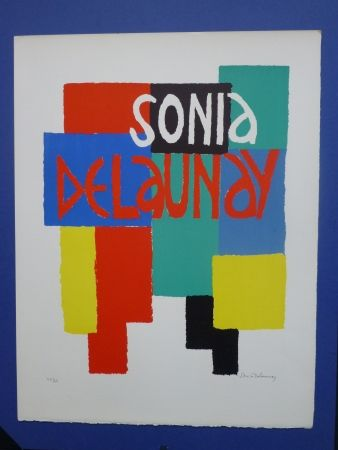 Lithographie Delaunay - Sonia Delaunay