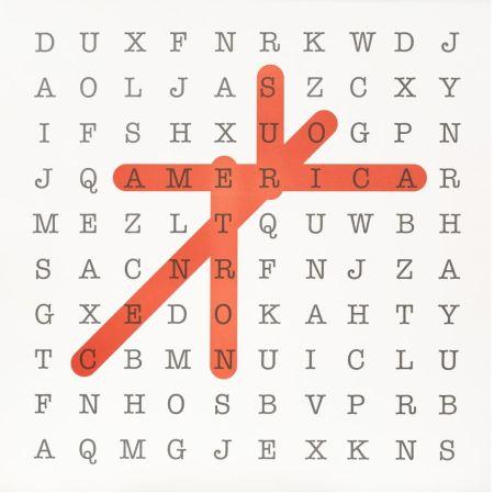 Lithographie Navarro - Sopa de letras