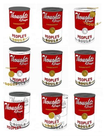 Sérigraphie Robierb - Soup Cans