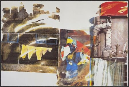 Sérigraphie Rauschenberg - Source, from Speculations