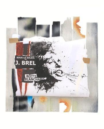 Gravure Blanchard - Sous le soleil de J. Brel