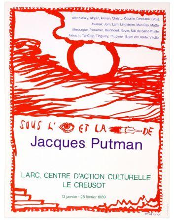 Affiche Alechinsky - Sous l'oeil et la plume de Jacques Putman