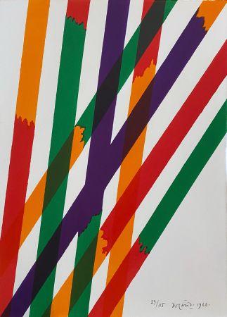 Lithographie Dorazio - Souvenir de Pise