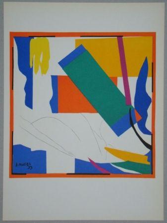 Lithographie Matisse - Souvenir d'Océanie