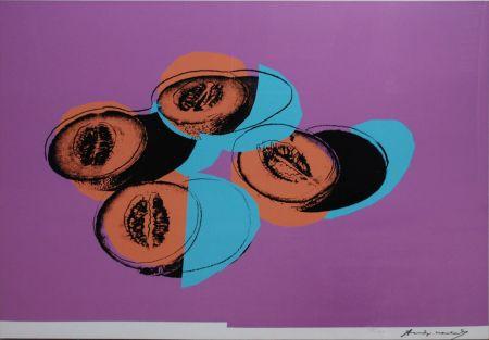 Sérigraphie Warhol - Space Fruit: Cantaloupes II (FS II.198)