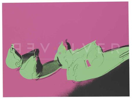 Sérigraphie Warhol - Space Fruit: Pears (Fs Ii.203)