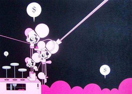 Estampe Numérique Dalek - Space monkey