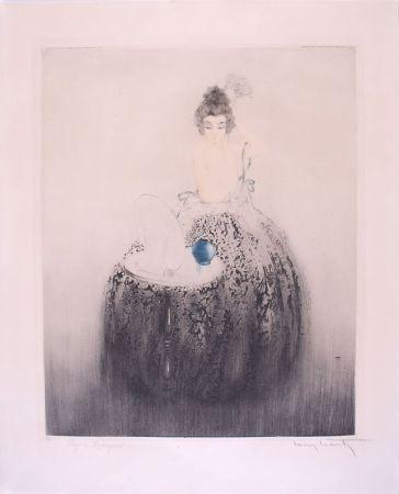 Eau-Forte Icart - Spanish Comb (Blue vanity) - Peigne Espagnol