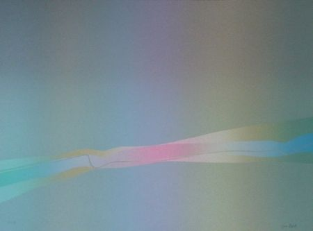 Lithographie Bird - Spectre lumière 2