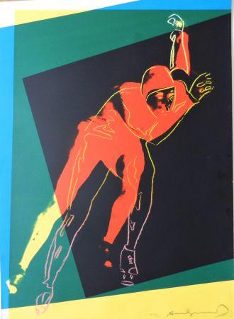 Sérigraphie Warhol - Speed Skater