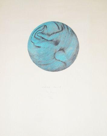 Lithographie Bury - Sphère molle