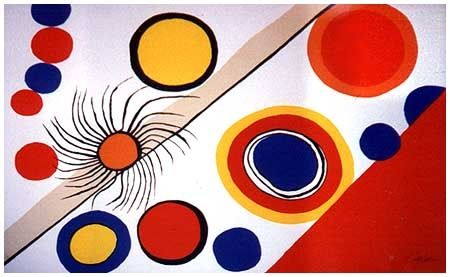 Lithographie Calder - Spider's Nest