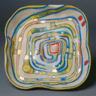 Sérigraphie Hundertwasser - Spiralental