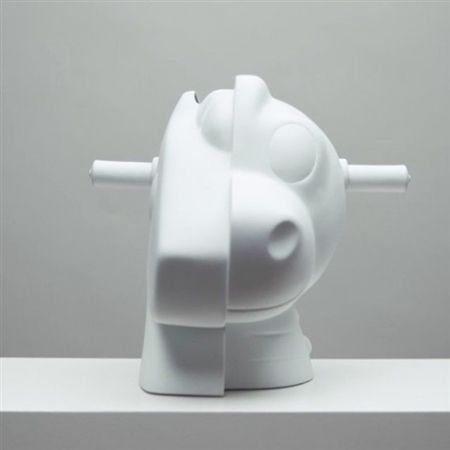 Multiple Koons - Split-Rocker Vase