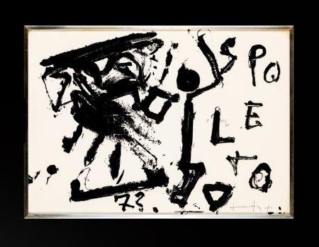 Lithographie Vedova - Spoleto 73