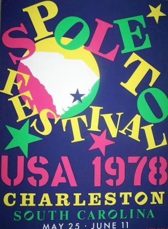 Sérigraphie Indiana - Spoleto festival