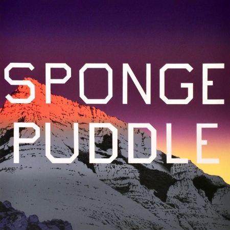 Lithographie Ruscha - Sponge Puddle