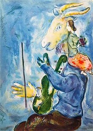 Lithographie Chagall - Spring