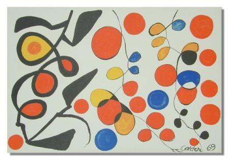 Lithographie Calder - Spring Carnival