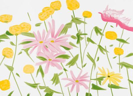 Sérigraphie Katz - Spring Flowers