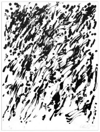 Lithographie Uecker - Spring I