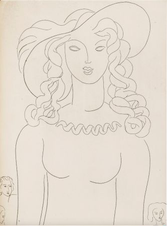 Livre Illustré Matisse - Stéphane Mallarmé : POÉSIES. Albert Skira 1930.