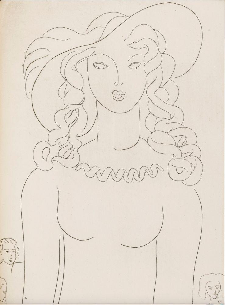 Livre Illustré Matisse - Stéphane Mallarmé : POÉSIES. Albert Skira 1932.