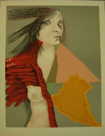Lithographie Bartolozzi - S/T