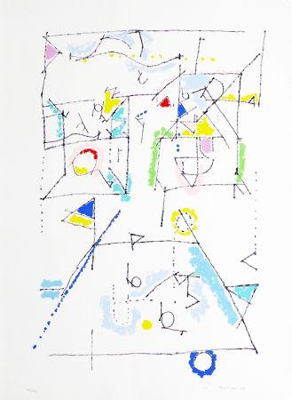 Lithographie Mompó - S/T