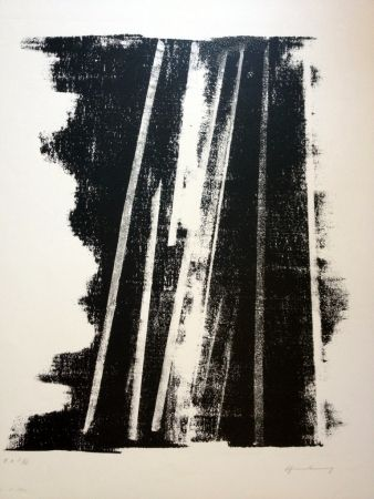 Lithographie Hartung - S/T