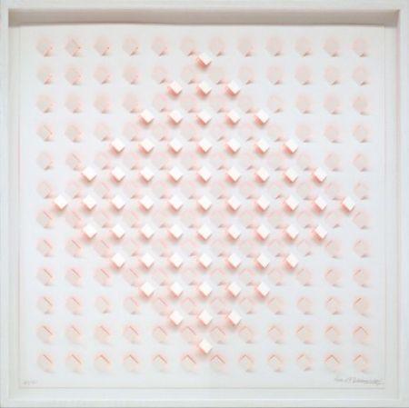 Lithographie Tomasello - S/T 1 - Naranja