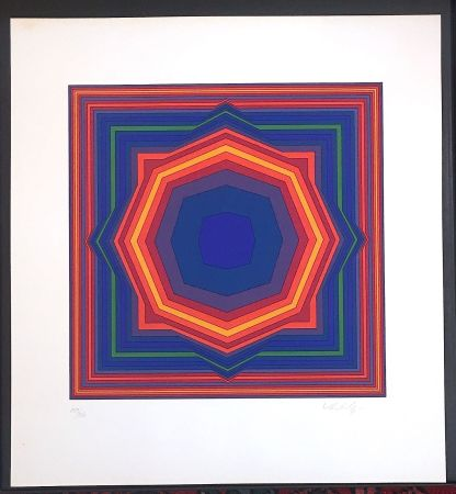 Sérigraphie Vasarely - S.t. (249)