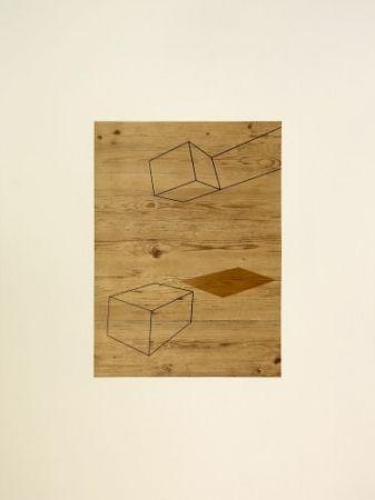 Lithographie Caldas - S/T 7