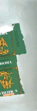 Lithographie Motherwell - St. Michael I (State I)
