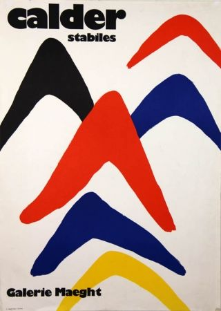 Lithographie Calder - Stabiles