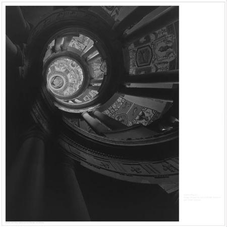 Lithographie Sugimoto - Staircase at Villa Farnese
