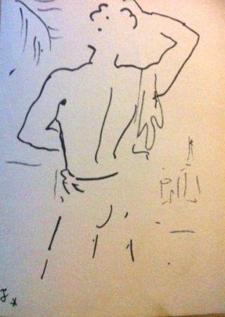 Lithographie Cocteau - Stanley