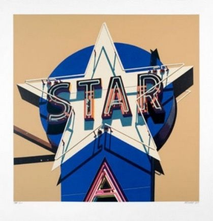 Sérigraphie Cottingham - Star