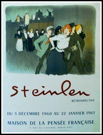 Affiche Steinlen - STEINLEN - MAISON DE LA PENSÉE FRANÇAISE, RÉTROSPECTIVE