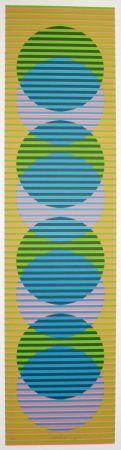 Lithographie Cruz-Diez - Stige 2
