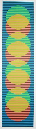 Lithographie Cruz-Diez - Stige 3