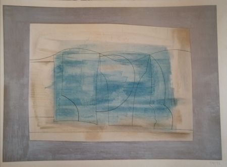 Lithographie Nicholson - Still Life