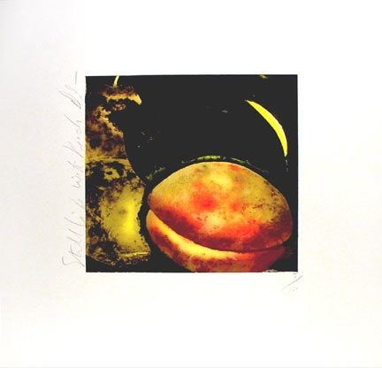Sérigraphie Sultan - Still Life With Peach