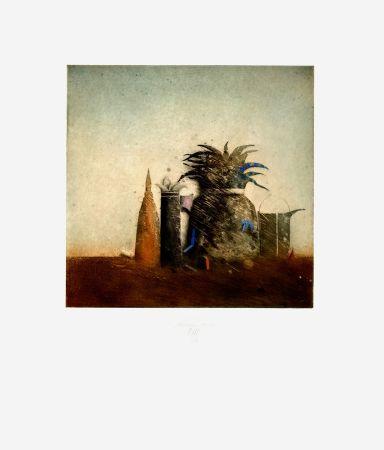 Eau-Forte Et Aquatinte Mordstein - Stilleben / Still Life