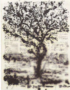 Gravure Kentridge - Stone Tree II