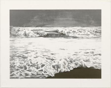 Lithographie Gornick - Storm sea
